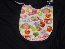 Birthday bib